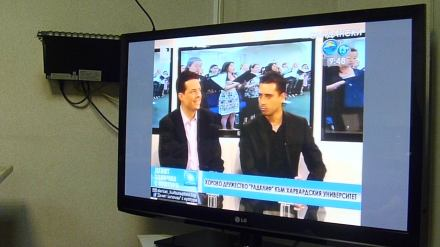Andy on Bulgarian National TV